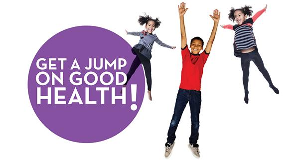 Jump on good health immunization