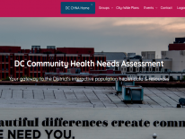 DC CHNA Cover Photo on Our Healthy DC