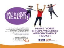 Get a Jump on Good Health Graphic