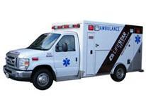 Photo of a LifeStar ambulance