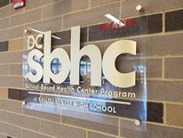 SBHC sign